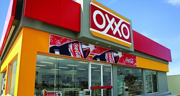 Fachada de Oxxo