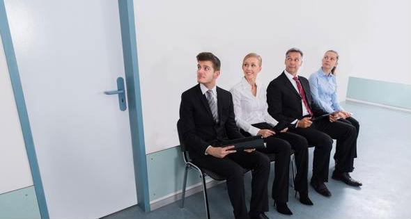 espera para entrevista