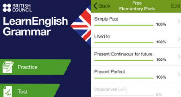 Aplicación para aprender inglés