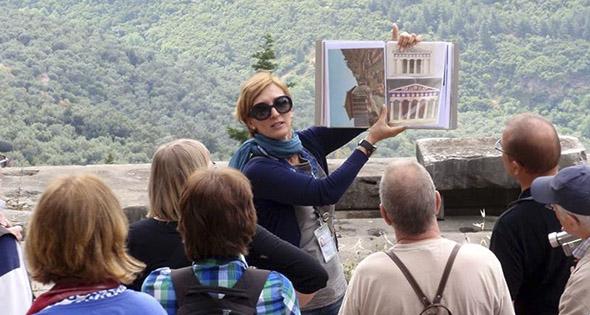 guia de turistas