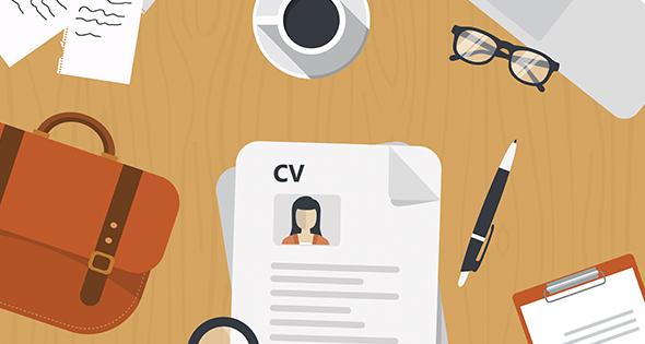 Escritorio con CV