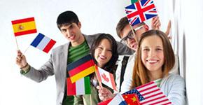Estudiantes de distintos países