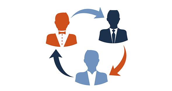 icono hombres de negocios