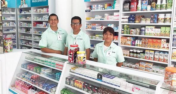 Empleados de farmacia GI