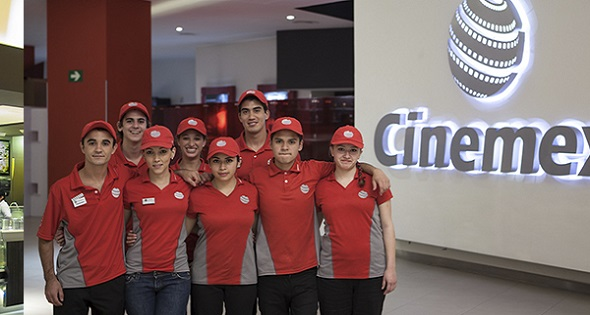 Equipo de trabajo Cinemex