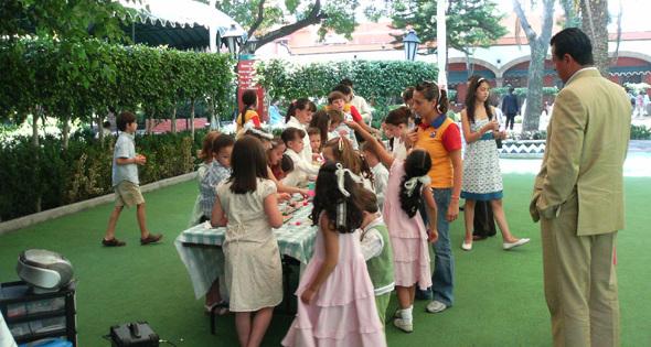 Animadora de fiestas infantiles