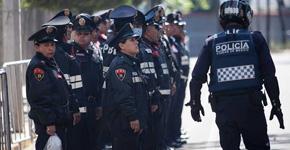Miembros de la Secretaría de Seguridad Pública