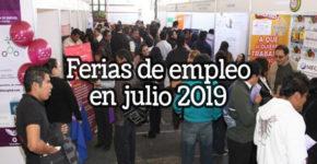 Ferias de Empleo en Julio